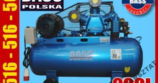 Bass Polska Sprezarka Kompresor 200l 3 Tloki 400v 6050024652 Oficjalne Archiwum Allegro Bass Polska