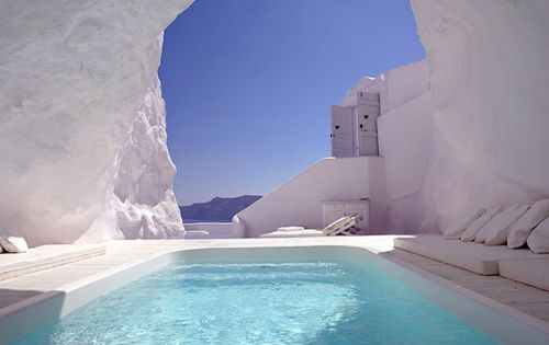 Katikies Hotel @ Santorini Greece. Santorini is one of my favorite places