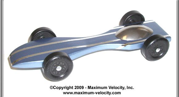 Standard Predator Pinewood Derby Car Design Projects To
