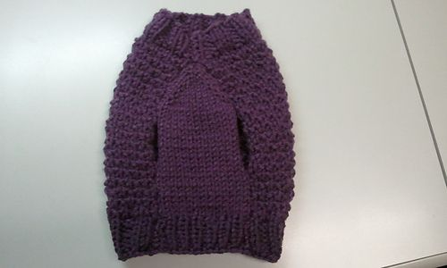 small dog sweater pattern, free pattern | Knit - for Pets ...