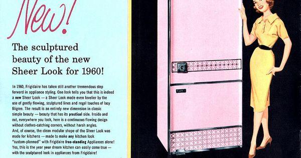 1960 Frigidaire Home Appliances Catalog Frigidaire