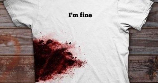 Walking dead rick grimes I'm fine t shirt