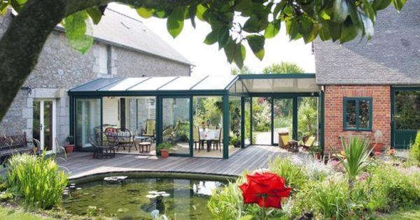 V randas de r ve dedans ou dehors extension maison for Construire jardin d hiver