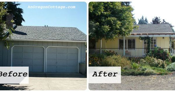 Garage To Living Space Before And After An Oregon Cottage Garage To Living Space Ranch House Remodel Ranch House