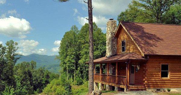 Log cabins of majors estate in waynesville north carolina for Mountain springs cabins asheville nc