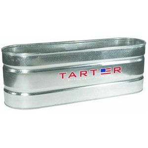 5ft Long This 125 Gallon Stock Watering Tank By Tarter A Features Galvanized Bottom Sides And A Four Ply Do Galvanized Stock Tank Stock Tank Poly Stock Tank