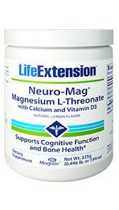 Neuro Mag Magnesium L Threonate Tropical Punch Brain Nutrition Calcium Vitamins Healthy Brain