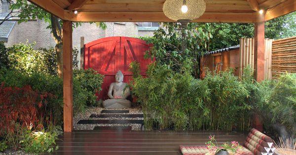 Tuinen gardens ontwerp design huib schuttel lodewijk hoekstra tuin en terras pinterest - Luifel ontwerp voor patio ...