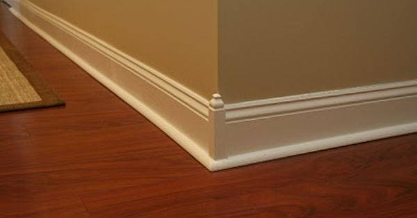 Moulding Blocks In Base Trim More Pics At This Link Of