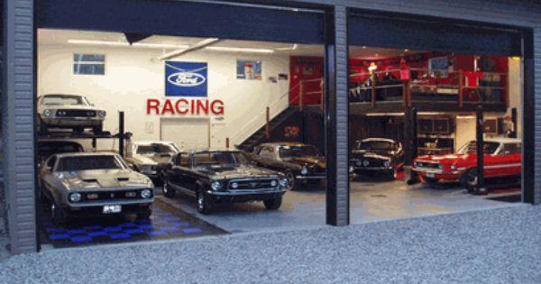 Ford garage garage pinterest ford dream garage and for Garage ford saint louis