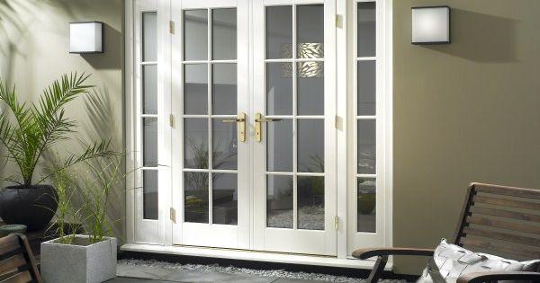 Patio doors with sidelights patio french doors with for Patio french doors with sidelights