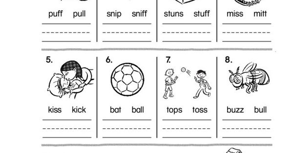 Phonics: Double Final Consonants Review Worksheet | Lesson Planet ...
