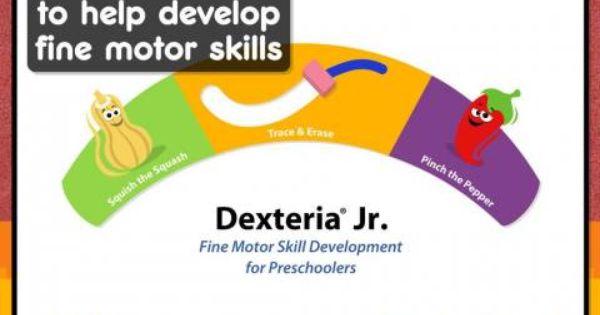 Dexteria jr fine motor skill development for for Adhd and fine motor skills