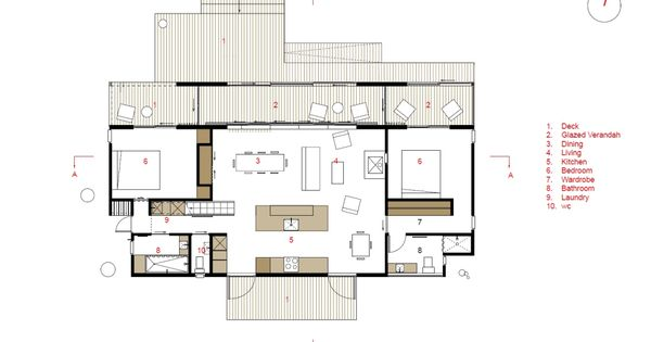 This bach a simple inexpensive vacation house for a for Bach floor plans