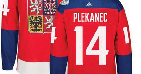 Men S Team Czech Republic 14 Tomas Plekanec Red 2016 World Cup Of Hockey Stitched Adidas Wch Game Jersey Nhl Jerseys Hockey World Cup Custom Jerseys