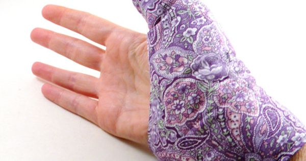Quot Texting Thumb Heat Pack Hand Wrap Hot Cold Wrap By