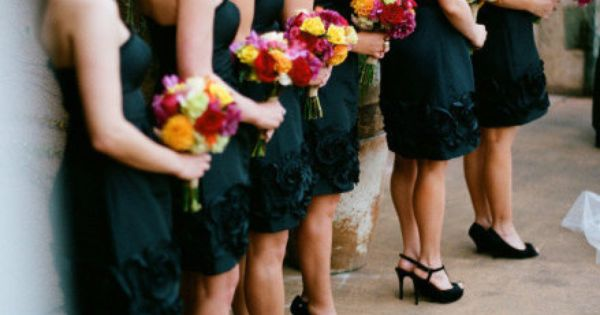 Beautiful bridesmaids dresses from Nordstroms ;)