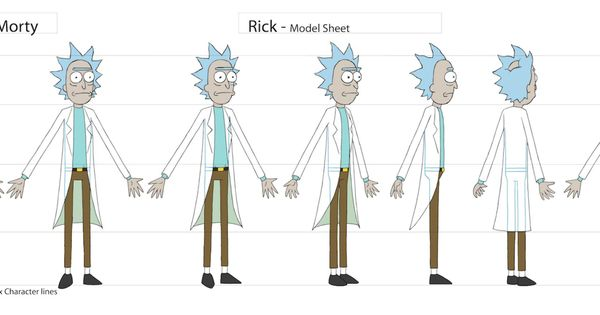 Character Design Requirements : Rick and morty storyboard guidelines