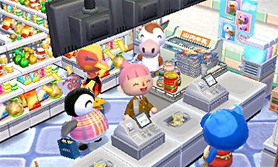 Animal Crossing New Leaf Dining Room