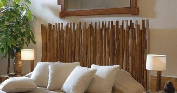 rustikaler kopfteil selber machen wohnung bett pinterest pelz basteln und selber machen. Black Bedroom Furniture Sets. Home Design Ideas