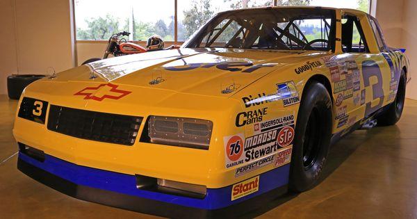 Dale Earnhardt's Chevrolet Monte Carlo SS NASCAR 1987. # ...Dale Earnhardt Bloody Car