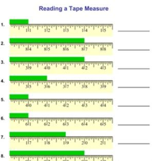 47++ Reading a ruler worksheet answers Education