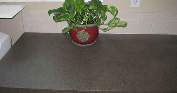 DIY spray paint laminate (phase one kitchen improvement)