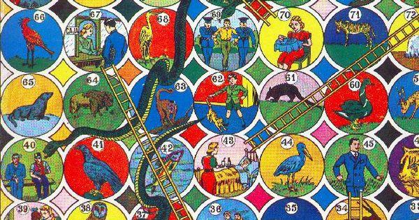 Serpientes y escaleras juego tipico mexicano andrea for Escaleras y serpientes imprimir