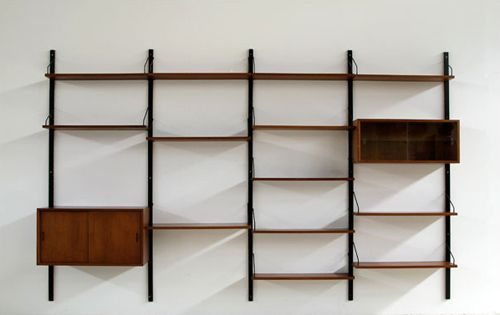 Paul Cadovius Royal System Wall Unit Mc Modern