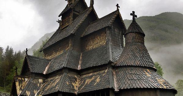 Borgund stave church, Sogn og Fjordane - Norway norway stavechurch borgund