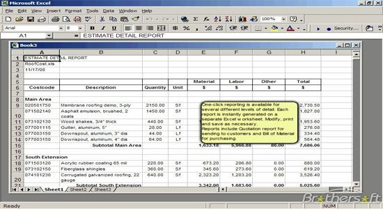 Roof Cost Estimator For Excel 2 0 Cost Estimator Sheet Roof Cost Excel Construction Cost