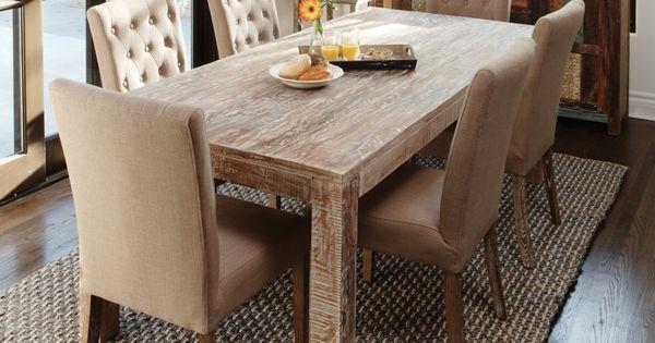Comedor r stico moderno awesome interiors pinterest for Comedor rustico moderno