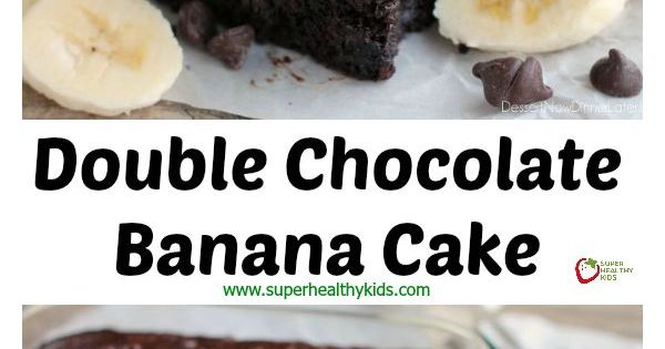 Double Chocolate Banana Cake | Recipe | Chocolate Banana Cakes, Banana ...