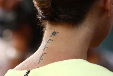 tattoo placement - classy & subtle