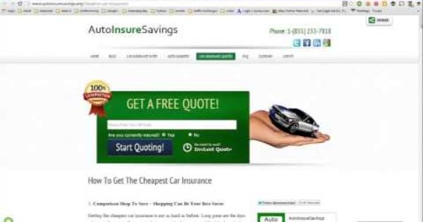 Pin By Insurance Daily Info On Auto Insurance Quotes In 2020