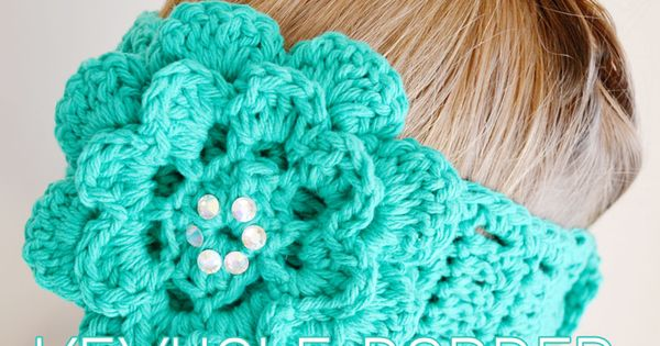 Free Crochet Pattern For Ladies Headband : Free crochet patterns for women: keyhole headband ...