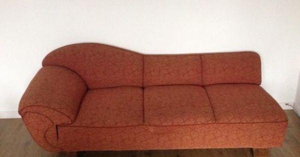 Vintage Chaiselongue Recamiere Couch Sofa 20er Jahre Antik In