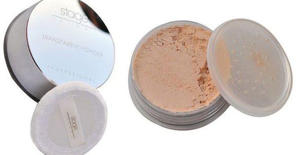 Stage Line Transparent Powder Neutral Transparent Powder Face Powder Transparent