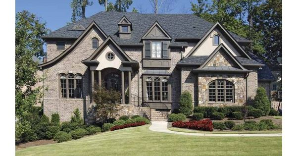 Beautiful brick and stone exterior dream home and for Beautiful brick and stone homes