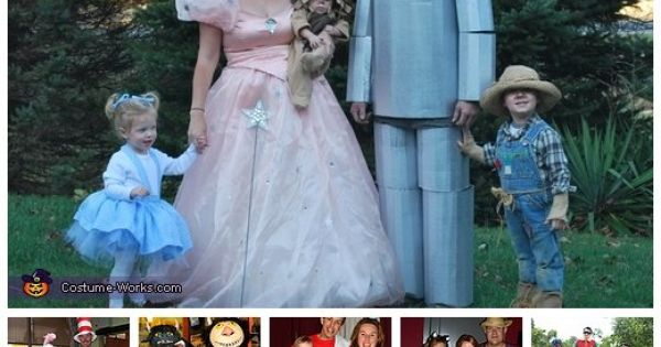 Homemade Costumes for Families - a lot of costume ideas! Now this