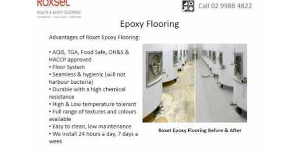 Roxset Australia Is The 1 Applicator Of Haccp Brc Fsanz Floor Coatings Specializing In The Food Bever Floor Coating Epoxy Floor Food And Beverage Industry