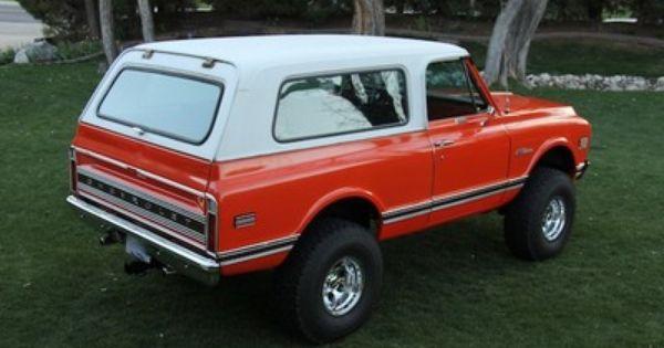 72 Blazer In 2020 With Images Chevrolet Blazer 72 Chevy Truck Chevy Blazer K5