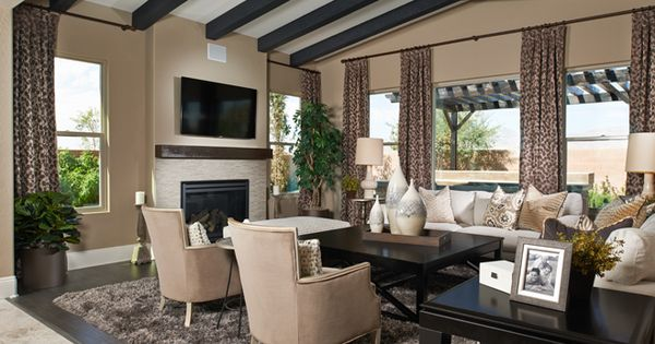 Reagan family room crismon heights richmond american for Living room queen creek