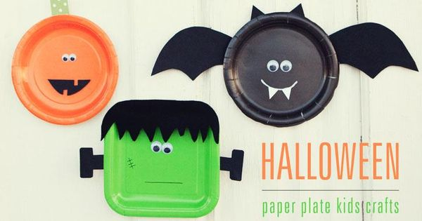Frankenstein, Diy paper and Paper plates on Pinterest
