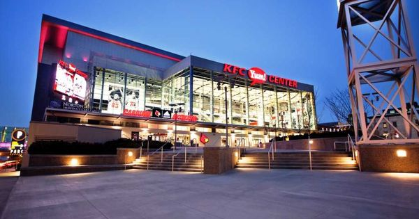 Louisville Ky The Kfc Yum Center Favorite Places