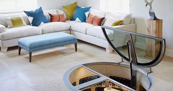 weinlagerung glast re rund spiralf rmig treppe root. Black Bedroom Furniture Sets. Home Design Ideas