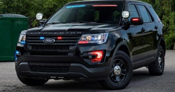 A Brighter Idea For Ford S Police Interceptor Ford Police