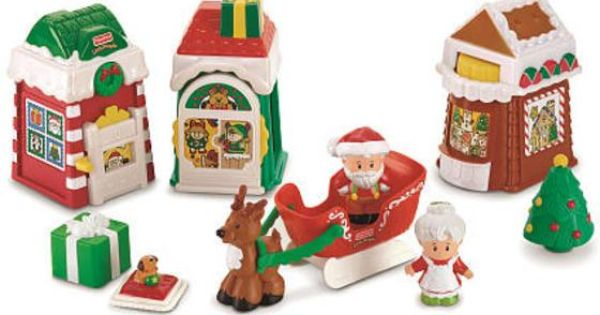 Little People Holiday Playsets Google Search Toys Fisher Price Toys Little People