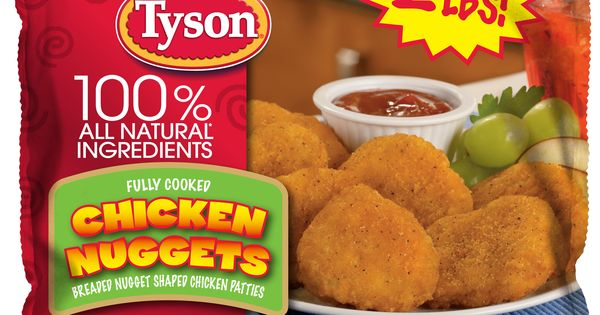 Everyone loves Tyson® Chicken Nuggets. They're made with ...