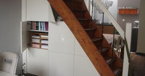 Kleine ruimte benutten trapkast trapkast benutten trapkast pinterest tiny spaces and spaces - Outs kleine ruimte ...